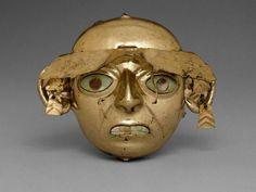 Moche culture, peru, metropolitan museum of art, new york Aztec Ruins, Mesoamerican, Masks Art, Effigy, Culture, Ancient Artifacts, Native American Art, Art And Architecture, Archaeology