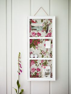 Beautiful pink & green paper backed box/white gesso notice board—nice inspiration❣ Cox & Cox Decorative Accessories, Home Accessories, Cox And Cox, Purse Organization, Plates On Wall, Girl Room, Pink And Green, Ladder Decor, Gallery Wall