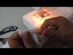 Dicas de costura- Aprenda a fazer casa de botão - YouTube