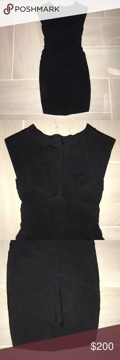 Herve Leger Dress Like new, worn once! Herve Leger Dresses