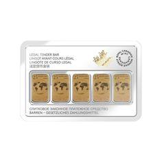 Legal Tender Bar Gold Bullion Gold Coin | Goldline