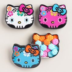 Hello Kitty Day of the Dead Candy Tins Set of 3