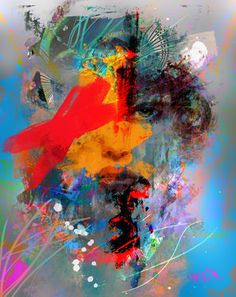 """Synthesis,"" original portrait new media by artist  Yossi Kotler available at Saatchi Art #SaatchiArt."
