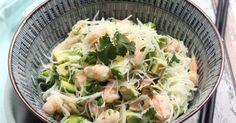 Recette - Salade de vermicelles de riz, crevettes et avocat | 750g