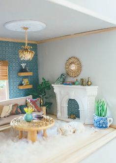 It's another reveal day of #DollhouseTherapy! This awesome dollhouse renovation challenge was started a few months ago by my friend Cassie o...