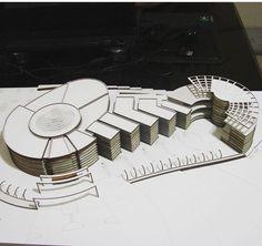 Classroom Architecture, Interior Architecture Drawing, Concept Models Architecture, Architecture Presentation Board, Architecture Concept Drawings, Museum Architecture, Cultural Architecture, Architecture Plan, Landscape And Urbanism