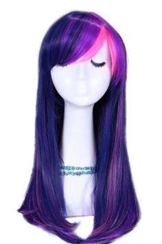 Long Mixed Purple / Pink My Little Pony Twilight Sparkle Straight Cosplay Wig My Little Pony Costume, My Little Pony Dolls, My Lil Pony, My Little Pony Party, Costume Wigs, Cosplay Wigs, Costumes, Twilight Sparkle Costume, Unicorn Fashion