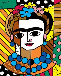 Romero Britto, Frida