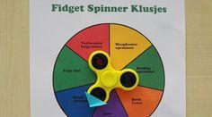 Lassen Sie Ihre Kinder ihre Aufgaben erledigen mithilfe des Fidget Spinners (Kostenloser Ausdruck)
