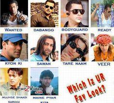 Salman Khan Style in Movies