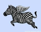 When zebras fly...kind of like that!