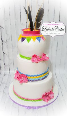 Sepedi African traditional wedding cake
