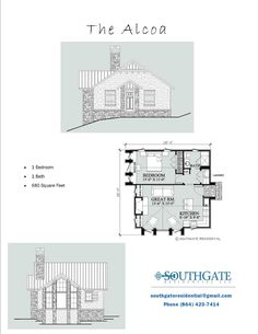 The Alcoa, Southgate Residential: Pre-Designed Plans.  Really great layout.