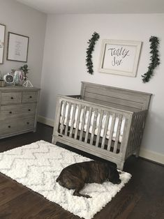 Love this but I would add paper flowers on the wall Baby Nursery: Easy and C. - Love this but I would add paper flowers on the wall Baby Nursery: Easy and Cozy Baby Room Ideas - Baby Boy Nursery Room Ideas, Boys Room Decor, Baby Boy Rooms, Baby Boy Nurseries, Girl Nursery, Room Baby, Nursery Decor, Simple Baby Nursery, Baby Room Ideas For Boys