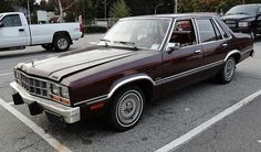 1980 Ford Fairmont Futura 4-Door Sedan