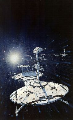 Peter Elson - Naked to the Stars by myriac, via Flickr | Click through for a larger image