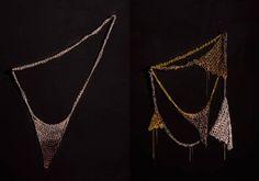 Arielle de Pinto crochet chain jewelry.