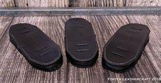 Shoulder Pads, Shoulder Strap, Deer Skin, Leather Craft, The Fosters, Black, Products, Leather Crafts