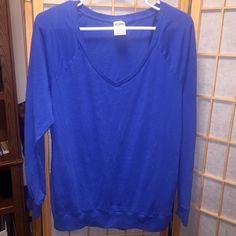 Victoria's Secret Pink Blue Long Sleeve Shirt Victoria's Secret Pink Blue Long Sleeve Shirt in size Medium. PINK Victoria's Secret Tops Tees - Long Sleeve