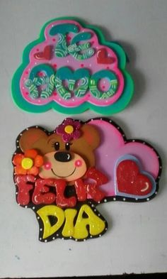 Luau Cupcakes, Biscuit, Paper Crafts, Diy Crafts, Candyland, Diy For Kids, Cake Toppers, Cute Pictures, Lettering