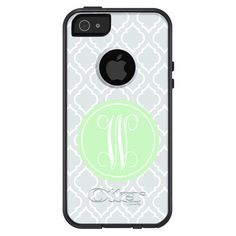 Monogrammed iPhone 5/5S/5C OtterBox Case - Moroccan | Three Hip Chicks