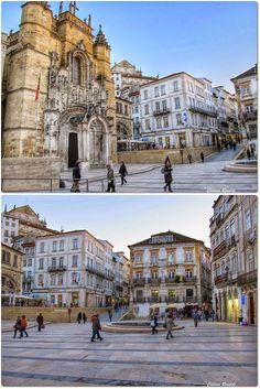 Panteão Nacional - Mosteiro de Santa Cruz Universidade de Coimbra - Alta e Sofia Património Mundial da UNESCO - 2013 http://whc.unesco.org/en/list/1387  #Portugal