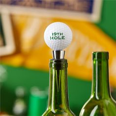 19th Hole Bottle Stopper