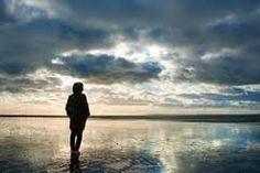 We are never alone. Spiritual Power, Spiritual Quotes, Gods Creation, Beautiful Sky, Solitude, Spirituality, Clouds, Silhouette, Sunset