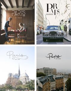 A graphic designer chronicles her trip to Paris with beautiful typography (2/4)