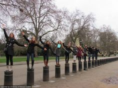 SOCI students in London this winter are enjoying tea time, Big Ben, red phone booths, and british accents.