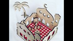 Mini Mosque - YouTube Islamic Designs, Mosque, Party Favors, Ali, Whimsical, Centerpieces, Product Launch, Holiday Decor, Children