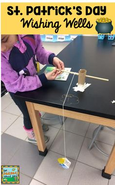 Felling Lucky With St. Head on over to the Science School Yard to get STEM and Science ST. Patrick's Day ideas for March! Cool Science Experiments, Stem Science, Easy Science, Science Lessons, Teaching Science, Science Activities, Science Ideas, 5th Grade Science, Elementary Science