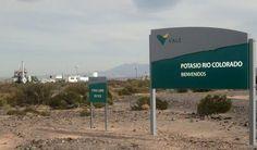 Mendoza asegura que los estudios de Potasio Río Colorado están en un 90%