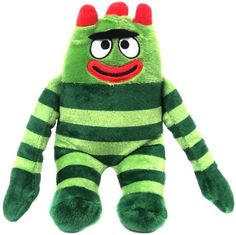 "Yo Gabba Gabba 7"" Talking Plush Brobee"