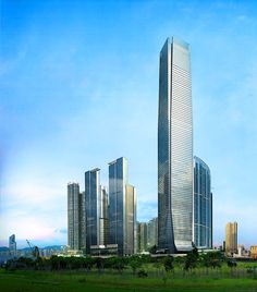 7. International Commerce Centre in Hong Kong 1588 ft