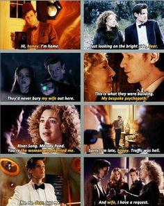 The titles of Professor River Song.