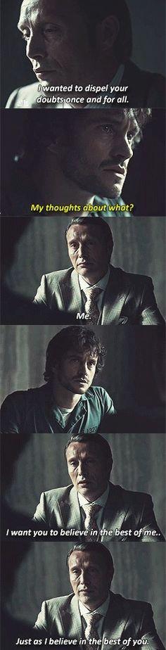 Hannibal |S02E03| Its like a love confession