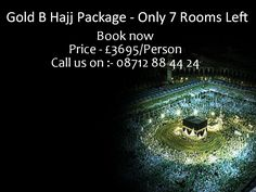 Gold B #Hajj Package 2014 #UK from M.zahid Travel LTD. 7 Rooms Left only. Please send your inquiry on info@mzahidtravel.com #Hajjpackages2014