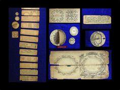 9016 Antique Handwritten Tibetan Astrological Computation Manuscript with Devices