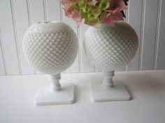 Vintage Westmoreland Milk Glass English Hobnail by mymilkglassshop, $42.50