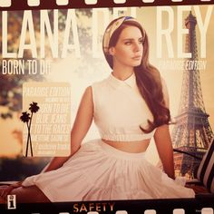 Music is a big part of my life. Lana del Rey and her amazing vocals can turn any bad day around.