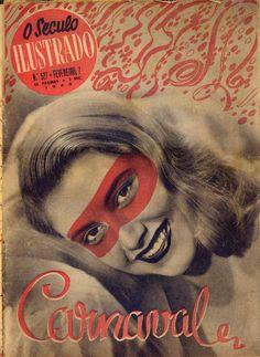 "Portuguese magazine ""O Século Ilustrado (The Century Illustrated)"", No. 527, February 7 1948"