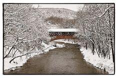 Covered Bridge Over Fox Creek, Schoharie, NY    © Scott Keidong 2011