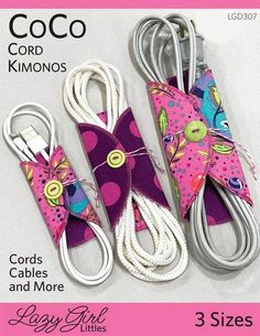 Sewing Gifts For Kids CoCo Cord Kimonos sewing pattern from Lazy Girl Designs Sewing Hacks, Sewing Tutorials, Sewing Crafts, Sewing Tips, Sewing Ideas, Kimono Sewing Pattern, Sewing Patterns Free, Fabric Sewing, Sewing Paterns