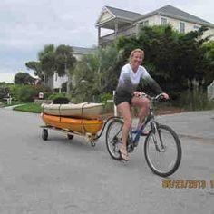 Bike Kayak Trailer  DIY