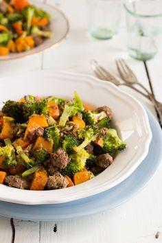 Dagelijkse Kost – Gehakt met broccoli
