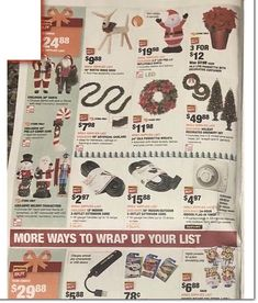 Home Depot Black Friday 2019 Ads and Deals Browse the Home Depot Black Friday 2019 ad scan and the complete product by product sales listing. Black Friday News, Black Friday 2019, Home Depot Coupons, Artificial Garland, Printable Coupons, Led, Holiday Decor