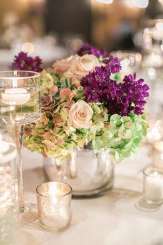 Stunning Centerpiece #YourEventFlorist #ArizonaWeddings #SassiWeddings #SucculentWedding  Photographer - Melissa Jill Photography Venue - Sassi