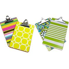Colorful Clipboards #17college