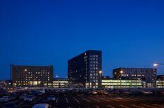 Locatie Dordwijk 'by night'